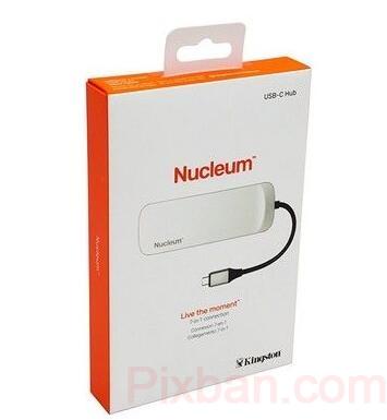 CES2018新品速遞#提升MBP擴展功能:Kingston 金士頓 發布 Nucleum 7合1 Type-C USB集線器 79.9美元(約520元) 男人3C運動 網路購物