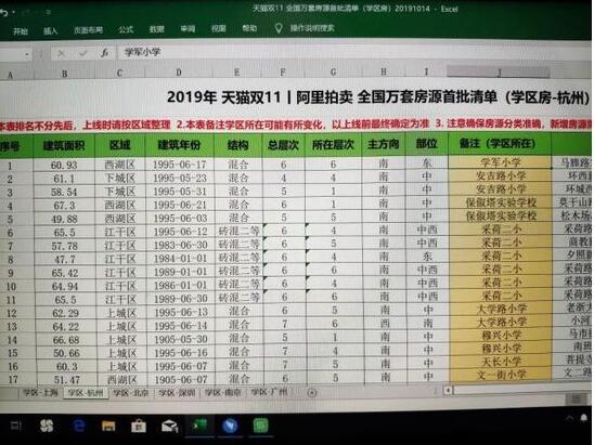 2019淘寶雙11活動