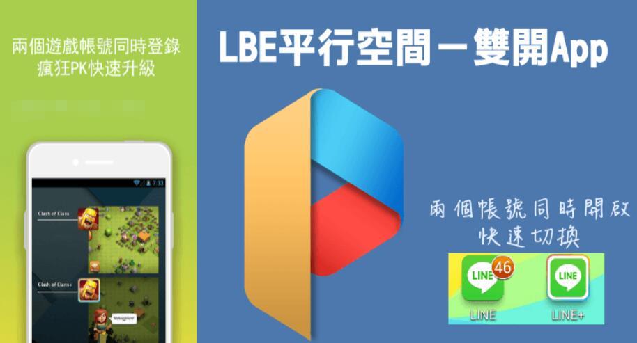 LBE平行空間App