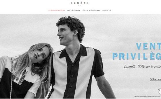 時尚服裝品牌Sandro法國海淘攻略