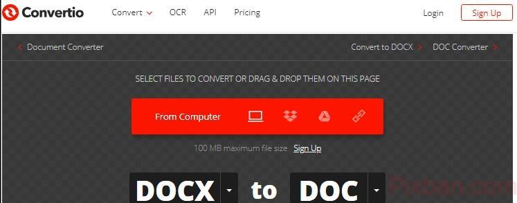 Word版本不相符,檔案打不開!DOCX to DOC 讓舊版也能開啟新版的office文件。 資源使用教學