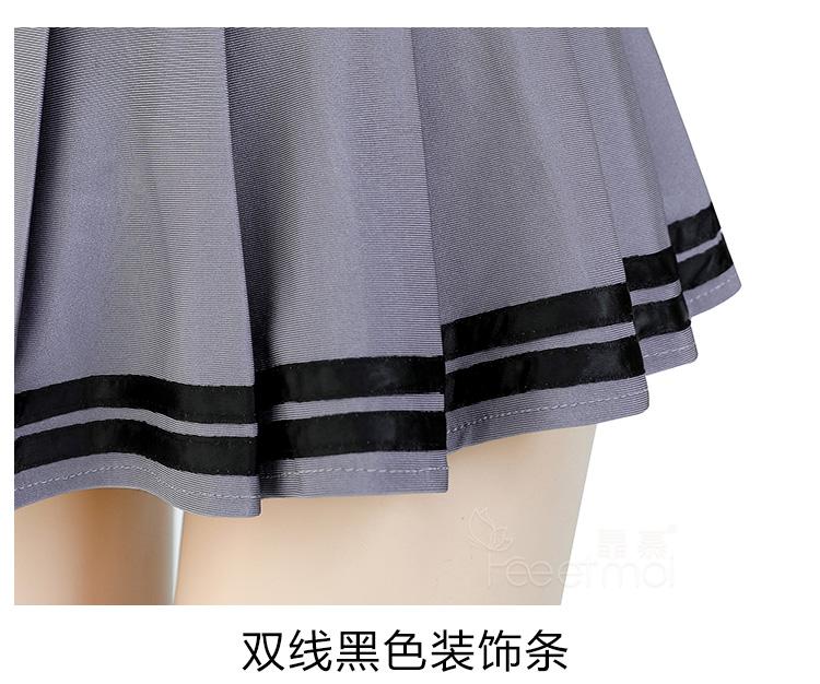 情趣内衣制服俏皮百褶裙露背绑带上衣性感水手服  情趣內衣