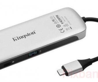CES2018新品速遞#提升MBP擴展功能:Kingston 金士頓 發布 Nucleum 7合1 Type-C USB集線器 79.9美元(約520元)